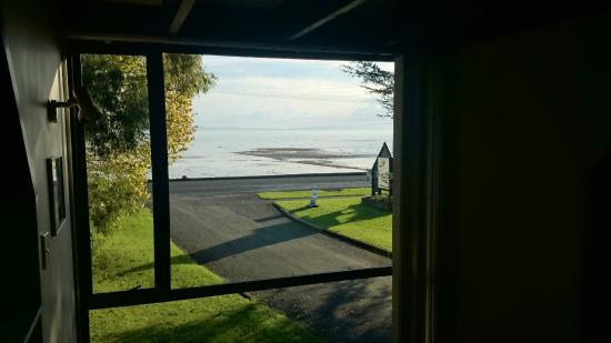 Coastal Motor Lodge: view from one of the windows