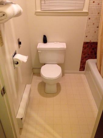 อัลบีออน, มิชิแกน: Bathroom