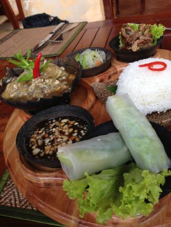 Angkor Sayana Hotel & Spa: Comida