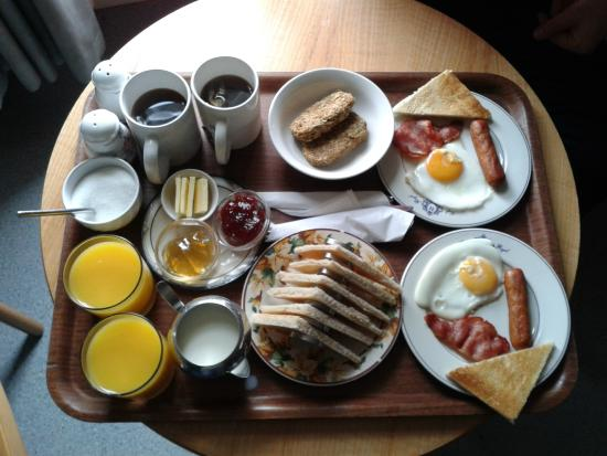 The Notting Hill Guest House: colazione!!!