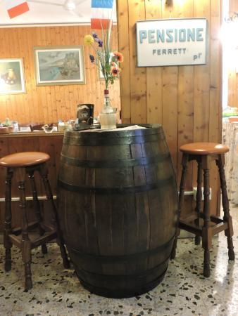 Hotel Ferretti - sala colazioni -