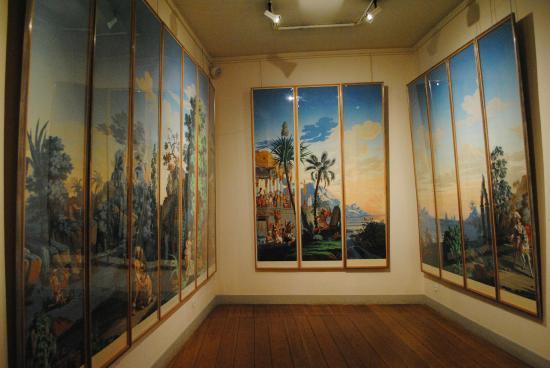 Musée du Nouveau Monde : salle du musée