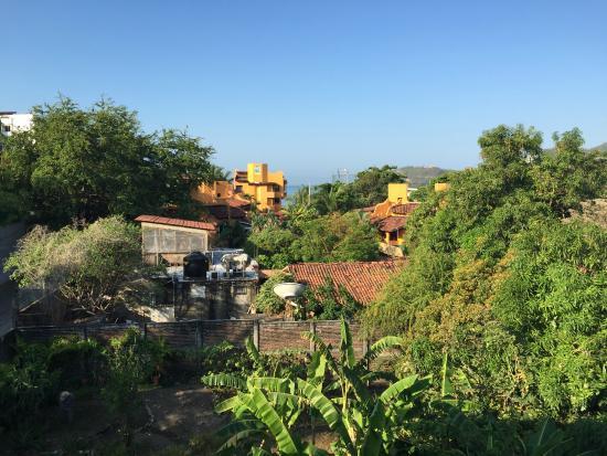 Canto del Mar Hotel & Villas: View Looking Towards the Ocean