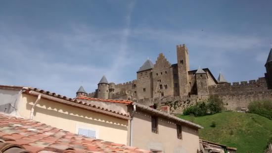 La Posada del Castillo B&B : view from the patio.