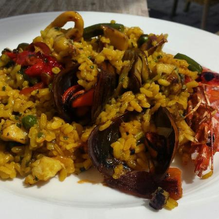 Sa Cova: Paella de marisco