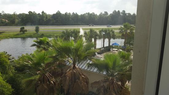 Days Inn Palm Coast: View from room
