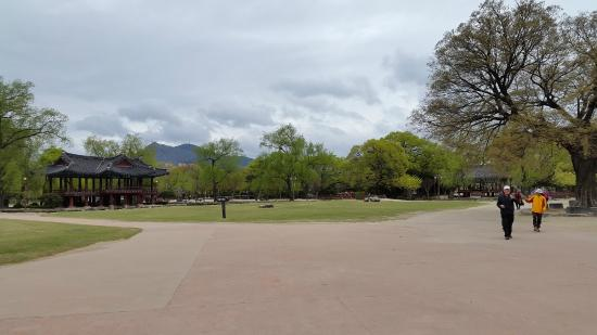 Gwanghallu: garden