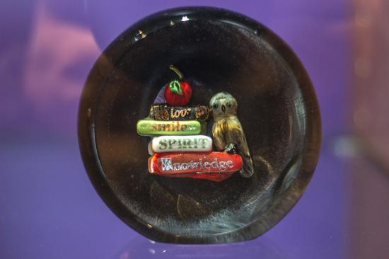 Bergstrom-Mahler Museum of Glass: I love knowledge