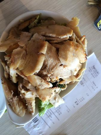 Arpi's Phoenicia Deli: Small salad with chciken