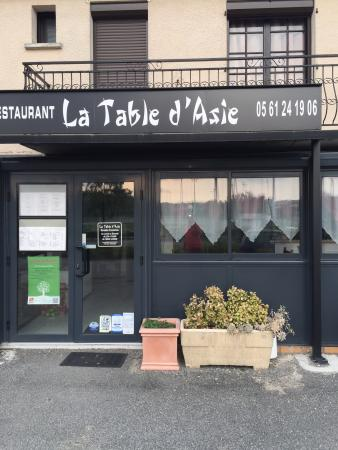 La Table d'Asie