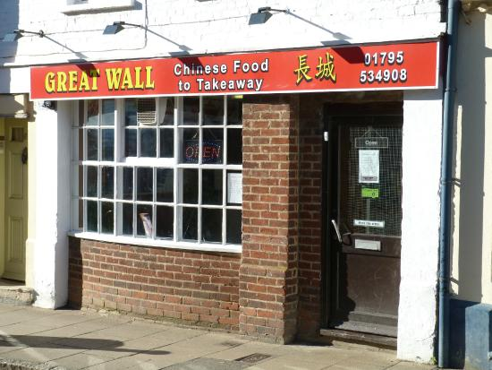 great wall of china takeaway