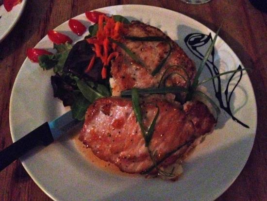 Cocina Creativa: Pork loin with ginger apricot glaze