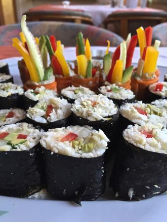 Naturkost-Hotel Harz: Sushi ohne Fisch
