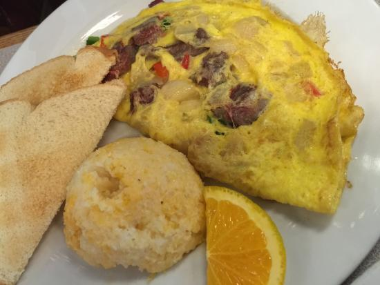 Mallery Street Cafe: Northern omelette