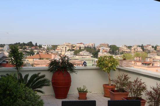 B&B La Duchessa A Roma: Vue de la terrasse