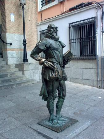 The Statue of Miguel de Cervantes
