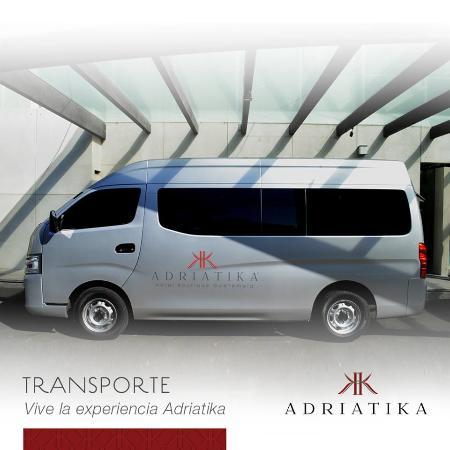 Adriatika Hotel Boutique: Traslados Aeropuerto / Hotel / Aeropuerto