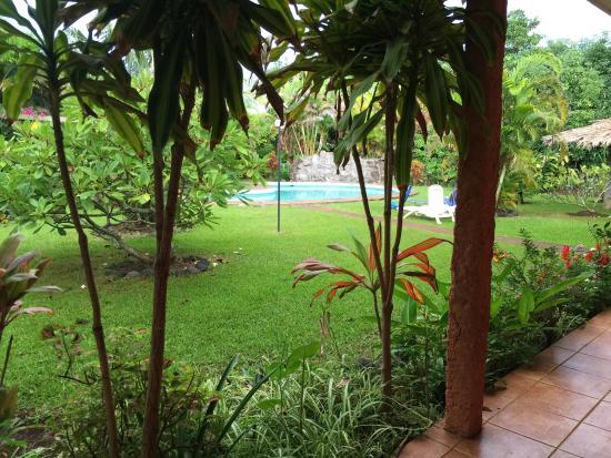 Hotel Oceania Rapa Nui: Vista desde la habitación 11