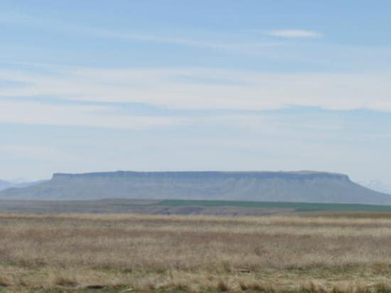 Madison Buffalo Jump State Park: incredible view from the top of the buffalo jump