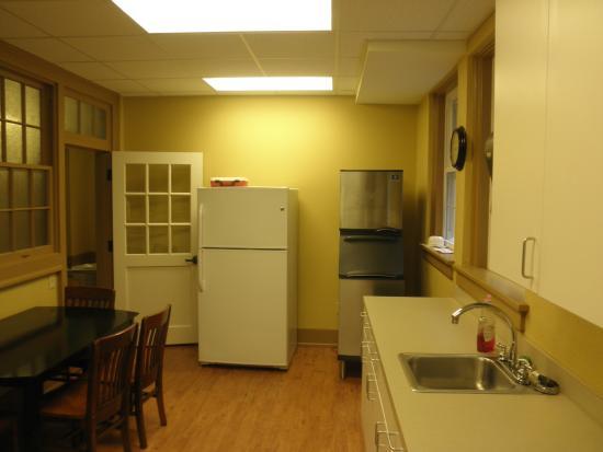First Baptist Church: kitchen
