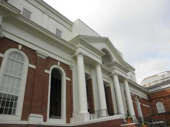 First Baptist Church: front