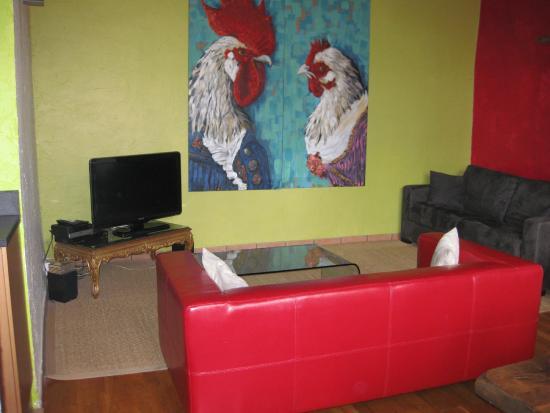 Les Demeures de Morphee : Living room