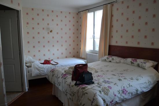 Le Clos Castel : Beds