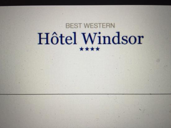 BEST WESTERN Hotel Windsor
