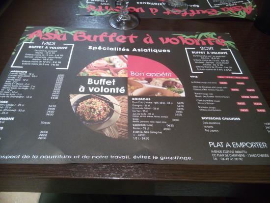 Asia buffet cabries restaurant avis num ro de t l phone photos tr - Pimkie plan de campagne ...