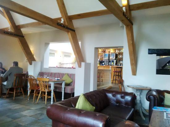 The Abbot's Elm Restaurant: Seated in the 'bar' section