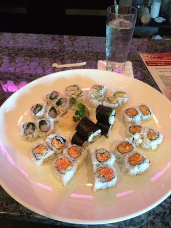 Saisaki: Six different rolls