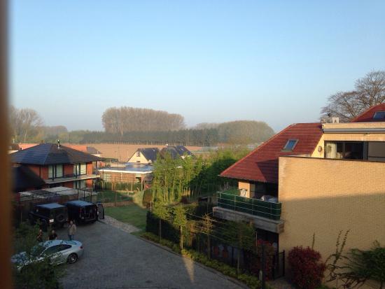 Hostellerie De Biek: Vista dalla mia camerA sulla campagna belga!!