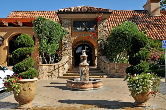 Mediterraneo restaurant entrance - Picture of Westlake ...