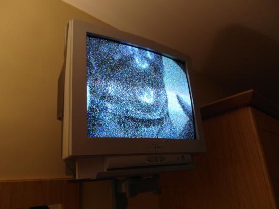 County Arms Hotel & Leisure Club : terrible tv quality
