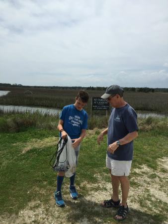 Hobcaw Barony Visitors Center : Hobcaw Barony Cast A Net Lesson