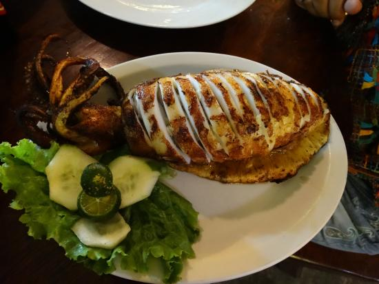 El Nido, Kalifornien: Stuffed Squid