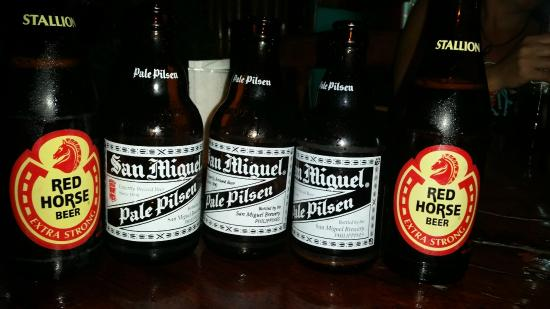 El Nido, แคลิฟอร์เนีย: Cervejas Filipinas