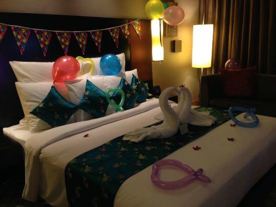 Anniversary and Birthday Decoration Picture of Hilton Kuala Lumpur