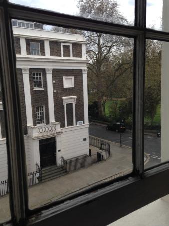 LSE Passfield Hall: Utsikt från mitt rum (205)!