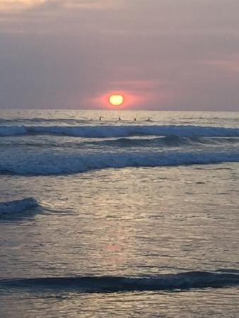 Nosara Beach (Playa Guiones): Our last sunset