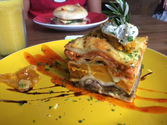Chaos Cafe: Chicken lasagna and salmon bagel