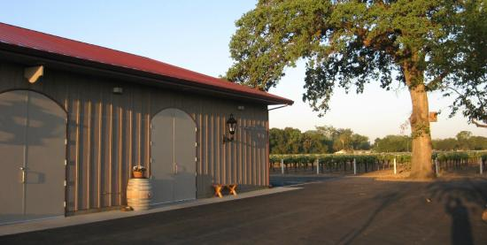 ‪‪Acampo‬, كاليفورنيا: Heritage Oak Winery, built in 2007‬