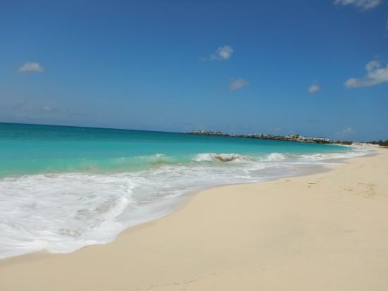 Simpson Bay Beach At Karakter