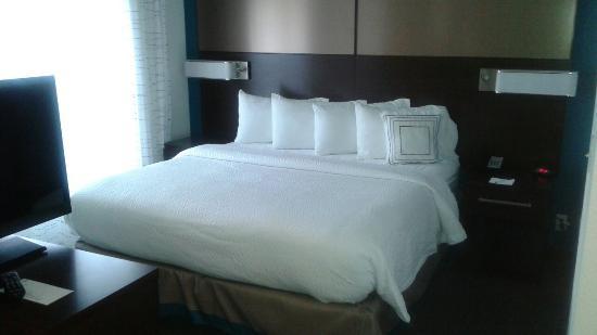 Residence Inn Springfield Chicopee : King Bedroom