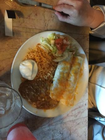 Always A Favorite At La Chimenea - Enchiladas