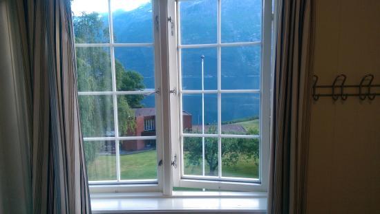 Hardanger Hostel B&B: Utsikten från rummet!
