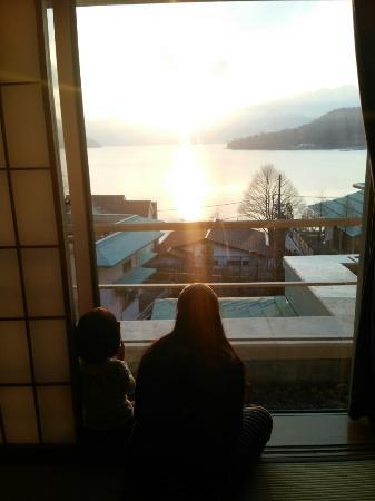 Hoshino Resorts KAI Nikko : こんな感じで見れました