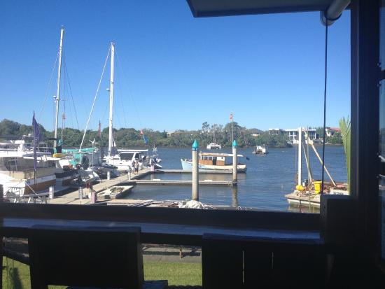 outside the galley cafe - picture of the galley cafe, coomera
