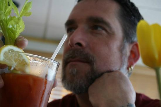Squaretoe's Restaurant: And a great Bloody Mary...