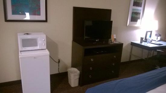 Holiday Inn Express South Haven: Mini-fridge and microwave